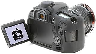 EasyCover Silicone Skin for Canon 70D Black [JU0472]