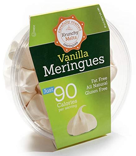 Krunchy Melts – Original Meringue Cookies – Vanilla Flavor – 4 Oz Tub
