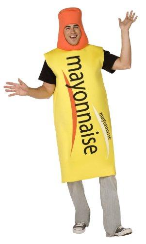 Déguisement Mayonnaise adulte - Taille Unique
