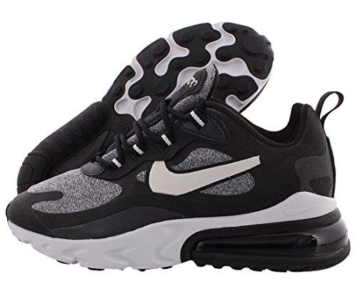 Nike Air Max 270 React (Optical), Sneakers Donna, Scarpe Casual Donna, AT6174-001. (41 EU)