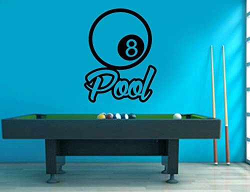 Yaonuli Cartoon snooker Biljarard Decoratie sticker afneembaar vinyl woonkamer muursticker