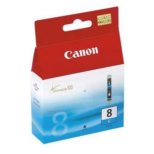 Canon Tintenpatrone CLI-8 C - cyan 13 ml - Original für Tintenstrahldrucker