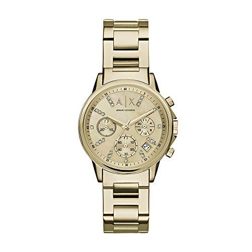 Reloj Armani Exchange para Mujer 36mm, pulsera de Acero Inoxidable