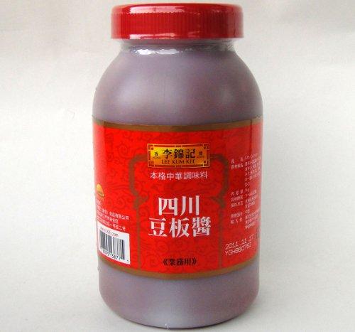 李錦記 四川豆板醤 1kg/ポリ瓶【リキンキ トウバンジャン業務用】香港中国産