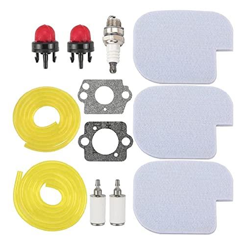 Fuerte capacidad de adsorción durable universal cortacésped filtro Kit esponja 530057925 cortacésped partes repuesto filtro de aire 14x14x1 1200