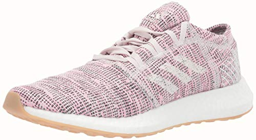 adidas Women's Pureboost Go, Orchid Tint/White/Raw White, 8 M US