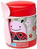 Skip Hop Aufbewahrungsbehälter, für Essen aus Edelstahl, isoliert, Marienkäfer Livie, mehrfarbig