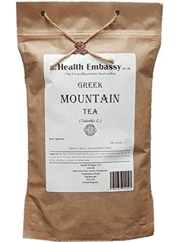 Health Embassy Griechischer Bergtee (Sideritis L. - Sideritis Scardica) / Greek Mountain Tea Ironwort, 50g