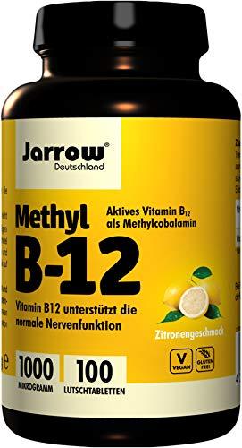 Natural Elements | Vitamine B12 | 1000 µg | 180 Tabletten | Actieve vormen | Veganistisch