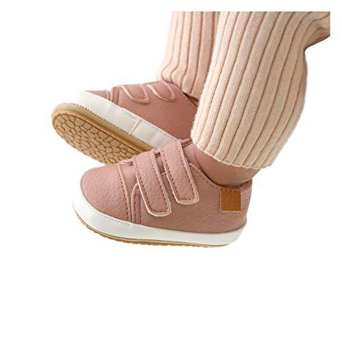 Baby Schuhe für 0-18 Monate,Babyschuhe,Baby Junge Lauflernschuhe,Baby Schuhe Mädchen Junge Lauflernschuhe,Kleinkind Flach Gummi Anti-Rutsch,Unisex-Kinder Trekking & Wanderschuhe mit Klettverschluss
