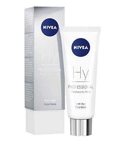 NIVEA PROFESSIONAL Hyaluronsäure Gesichtsmaske, hochwirksame Hyaluron Anti-Aging Maske für Gesicht, hautstraffend, innovative Pflege gegen Falten, exklusive Anti-Falten Feuchtigkeitspflege,1 x 75 ml