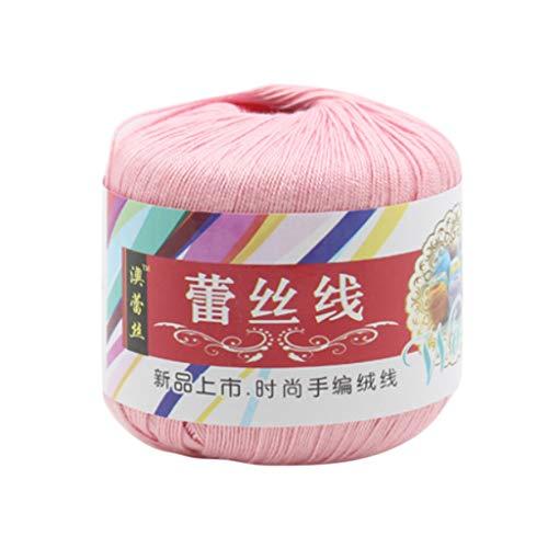 Hilo de algodón mercerizado para hacer ganchillo y coser As Picture Show 03.