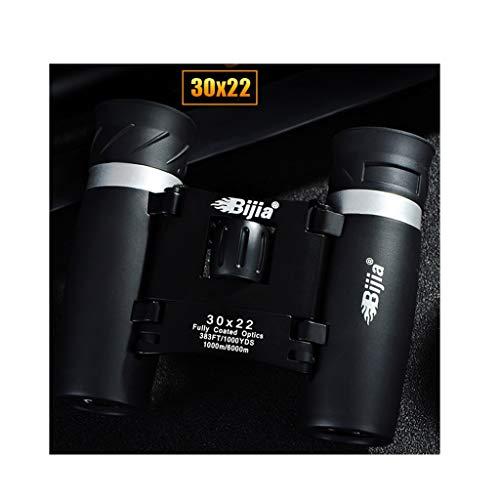 QYSZYG Prismáticos móviles 50x22-Alta definición HD Telescopio Exterior-HD 10.000 Metros, Mini Gafas de Concierto Telescopio (Size : 30X22)