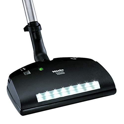 Miele Original Zubehör SEB 236 Electro Premium Bodenbürste / elektrische Bürstenwalze / fünfstufige Höhenverstellung / mit Beleuchtung / für Teppichböden / für Staubsauger mit Elektrosaugschlauch