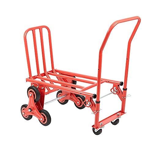 Carrello a Tre Ruote con Portata da 150 kg - Carrello per Camion e Sacchi Resistente e con Tre Ruote per Un Facile Trasporto - Trasporto su Piattaforma di Carichi Pesanti Ideale per Corrieri