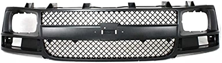 Koolzap For 03-16 Chevy Express Front Grill Grille Assembly Black Shell GM1200538 22816424