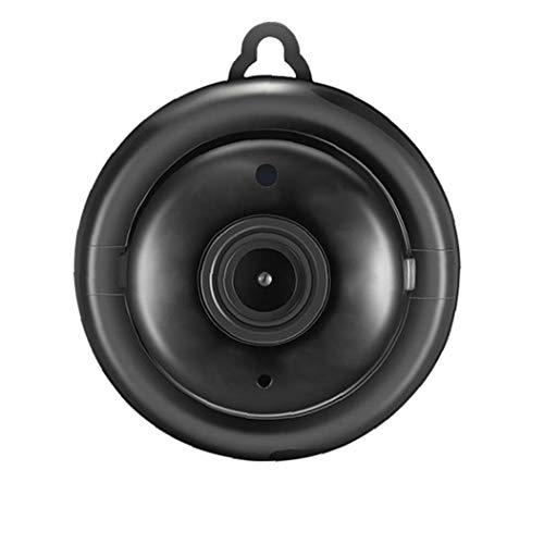 ZYCX123 V380 cámara inalámbrica WiFi del IP de la cámara del bebé Pequeño HD Nightvision Cubierta de plástico Negro Home Productos para el Hogar