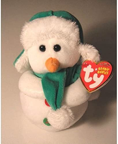 TY Beanie Baby - MR SNOW the Snowman by TY Beanie Baby - MR SNOW the Snowman