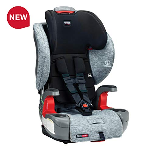 Big Save! Britax USA Grow with You ClickTight Harness-2-Booster Car Seat - 2 Layer Impact Protection...