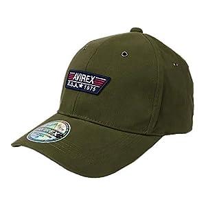 アビレックス ローキャップ メンズ 帽子 AVIREX アヴィレックス AX TP PATCH LOW CAP ミリタリー アメリカ USA カーキ