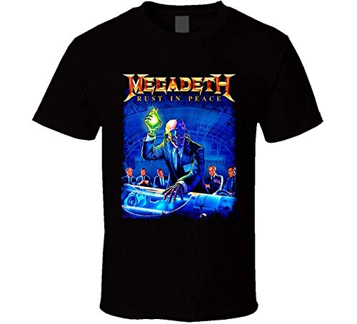 This New Megadeath T Shirt with a Rust in Peace M-2XXXL