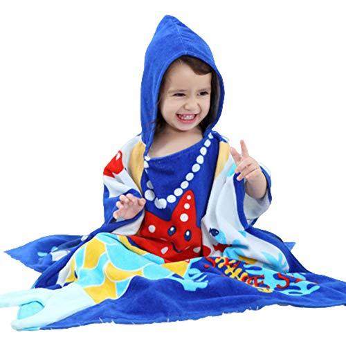 Niedlicher Baby-Bademantel für Mädchen, Pyjama, Kinder, Tier-Kapuze, Strandtuch, Bademantel, Pyjama, Baby-Nachtwäsche für Kinder