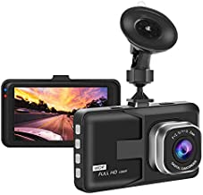 Aigoss Dash Camera for Cars Recorder, Video Dash Cam 3 Inch 1080P Full HD Wide Angle Driving Recorder with Night Vision WDR G-Sensor Parking Monitor Loop Recording Motion Detection