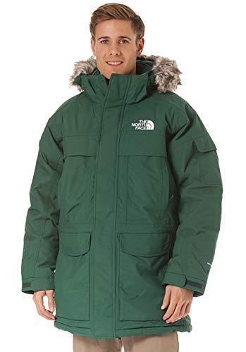 The North Face Mcmurdo - Piumino isolante da uomo, Uomo, Piumino isolato, A8XZ, Verde notte., L