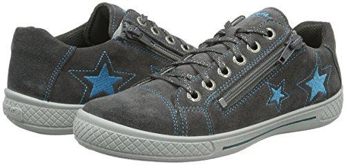 Superfit TENSY 708107, Mädchen Sneakers, Grau (STONE KOMBI 06), 30 EU - 7
