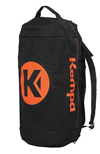 Kempa K-line Tasche Sporttasche, schwarz/Fluo orange, S