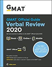 GMAT Official Guide: Verbal Review ‎2020