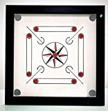 Surco Classic Carrom Board with Coins and Striker, 8mm Full Size
