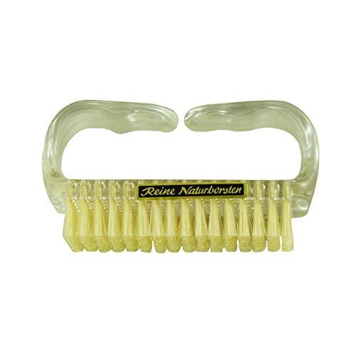 Abacus NAGELBÜRSTE mit Reinen Naturborsten (5150) - Universal-Bürste Nagelbürste Ergonomische Bürste Handbürste Naturborsten-Bürste …