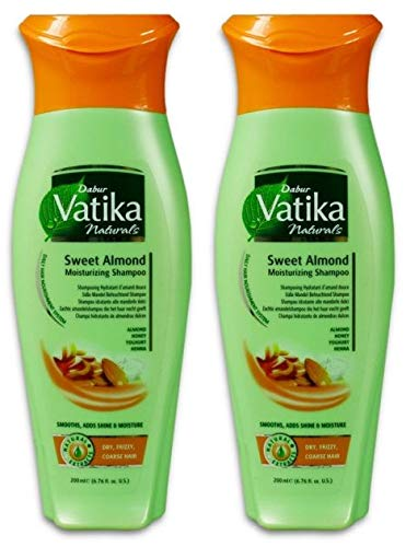 Dabur Vatika Naturals Amande douce 200 ml (2 x 200 ml)
