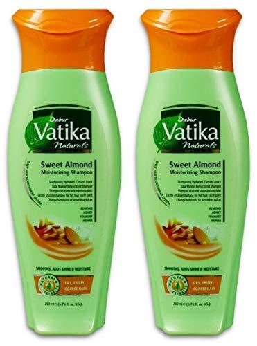 Dabur Vatika Naturals Süße Mandel 200ml (2x 200ml)