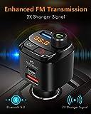 Zoom IMG-1 nulaxy trasmettitore bluetooth per auto