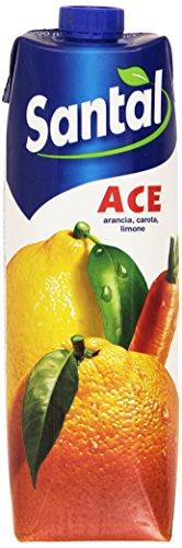 Santal Bevanda al Gusto di Arancia, Carota e Limone - 1 L