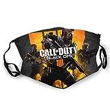 Photo de Call Of Duty Écharpe réutilisable pour visage de guerre froide Protection UV Noir