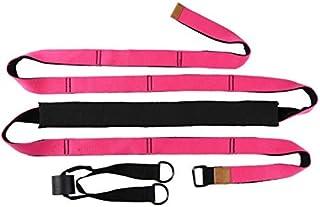 Yoga Waist Back Stretch Band - Door Flexibility Tensile Multifunction Assist Training, Yoga Leg Stretcher Strap w/Door Anc...