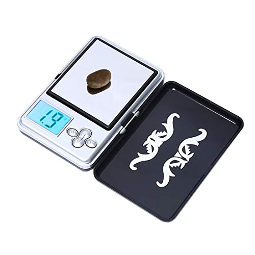 LBBL Luggage Scale, Portable Digital MIni Pocket Electronic Luggage Scale (0.01g~100g), Excluding Batteries Electronic Scale