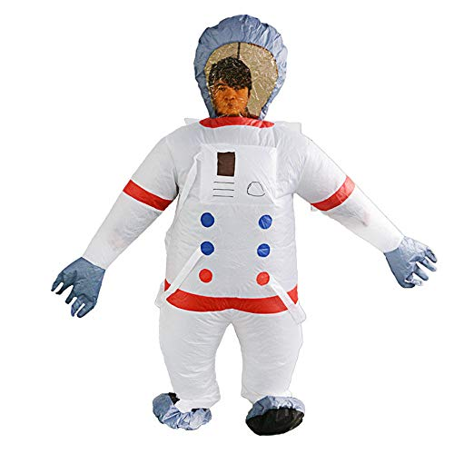QSEFT Juguetes Creativos De Halloween Fiesta De Carnaval De Navidad Traje Espacial Cosplay Dress Up Inflables Party Spoof Costumes Props Adult