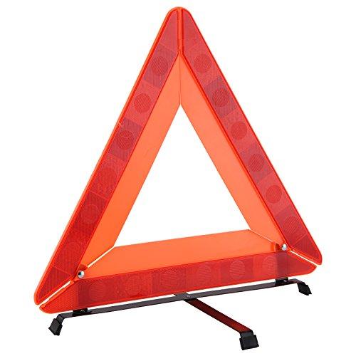 BALLSHOP Warndreieck Pannendreieck Auto KFZ Faltbar Reflektierend Einfach Einsetzbar für Unfälle und Pannen sowie Schutz und Sicherheit für Autozubehör Notfälle