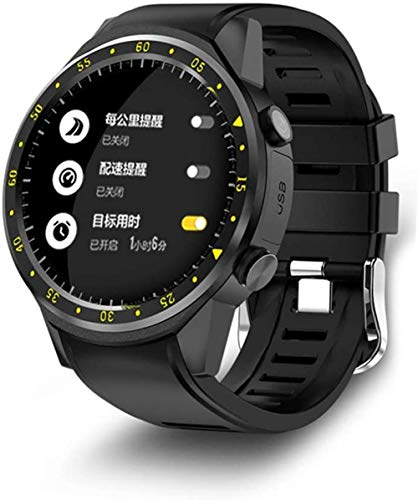 Smart Watch Activity Tracker Multi-Sport Mode With Heart Rate Monitor Fitness Tracker With Stepper/Calorie/Distance Counter Pedometer Gps Android Ios (Black)-Black