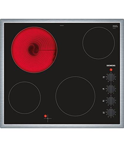 Siemens ET645CEA1E iQ100 Elektrokochfeld / 4 Heizelemente / 58.3 cm / Glaskeramik