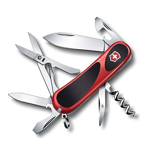 Victorinox Swiss Army EvoGrip 14 Pocket Knife Red 85mm RedBlack