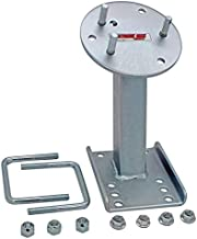 Extreme Max 3001.0064 High-Mount Spare Tire Carrier, Silver, Standard