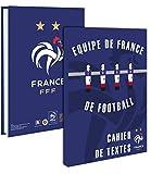Cuaderno de FFF. de 2015 y 2016-Colección oficial de la selección de Francia de fútbol-Estuche escolar