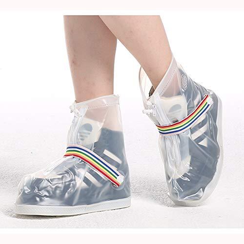 Cubierta de Zapatos Viajes Botas de lluvia for montar al aire libre Set One Diseño antideslizante resistente al desgaste Cubierta de zapato portátil a prueba de lluvia Montar Cubierta de zapato imperm
