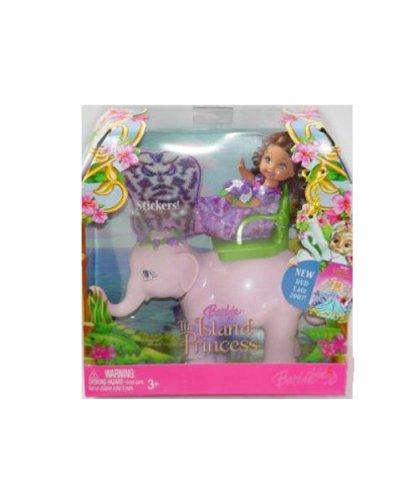 Barbie Doll Island Princess Shelly Dolls & Elephant – 1 Set – Varios
