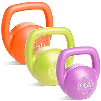 Tone Fitness Kettlebell Body Trainer Set with DVD, 30 Pounds by Cap Barbell, Inc.